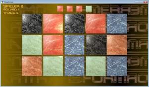 Spielfläche des Spieles Transformer